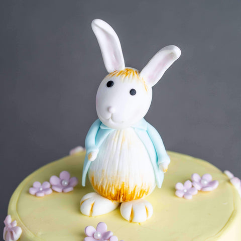 "Baby Rabbit Cake 5"" - Designer Cake - B'Sweetbites - - Eat Cake Today - Birthday Cake Delivery - KL/PJ/Malaysia"