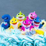 Baby Shark Family Cake - Buttercakes - In The Clouds Cakes - - Eat Cake Today - Birthday Cake Delivery - KL/PJ/Malaysia