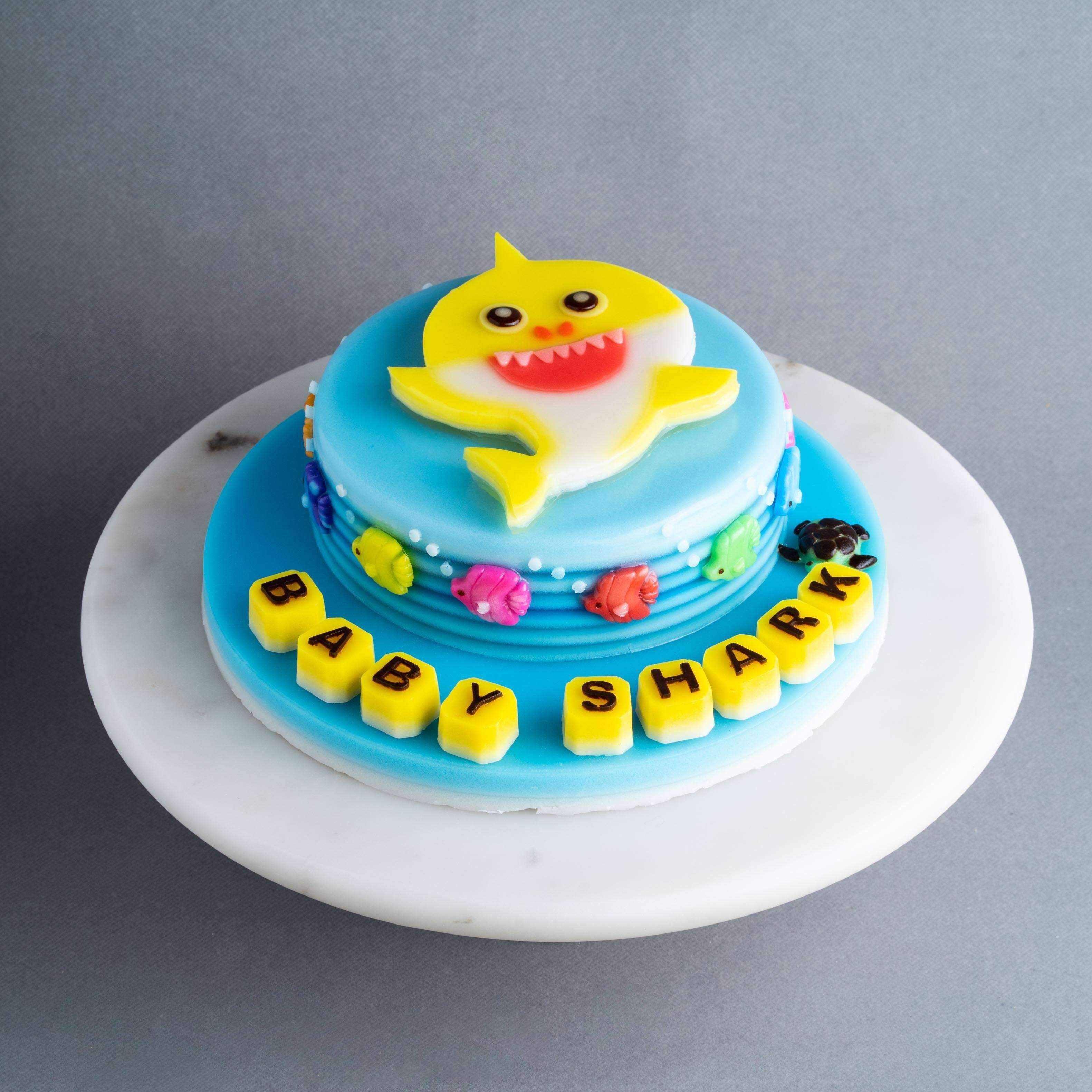 Superb Baby Shark Jelly Cake 8 Eat Cake Today Birthday Cake Delivery Birthday Cards Printable Giouspongecafe Filternl