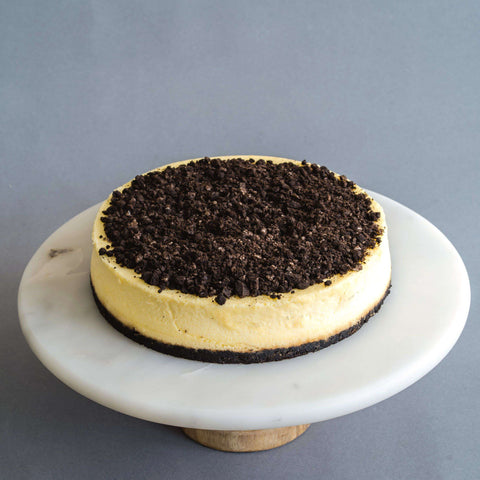 "Baked Oreo Cheese Cake 8"" - Cheesecakes - Petiteserie Desserts - - Eat Cake Today - Birthday Cake Delivery - KL/PJ/Malaysia"