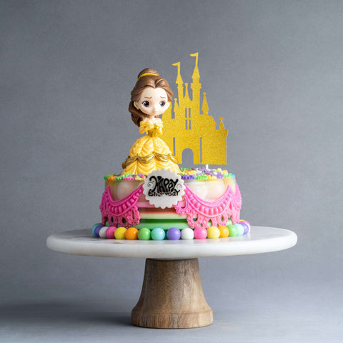 Beauty and the Beast Jelly Cake - Jelly Cakes - Jerri Home - - Eat Cake Today - Birthday Cake Delivery - KL/PJ/Malaysia