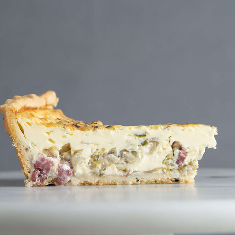 "Beef Bacon Quiche 9"" - Pastry - Food Foundry - - Eat Cake Today - Birthday Cake Delivery - KL/PJ/Malaysia"