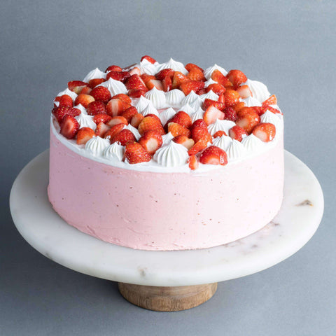 "Berry Explosion Cake 9"" - Bundt - Just Heavenly - - Eat Cake Today - Birthday Cake Delivery - KL/PJ/Malaysia"