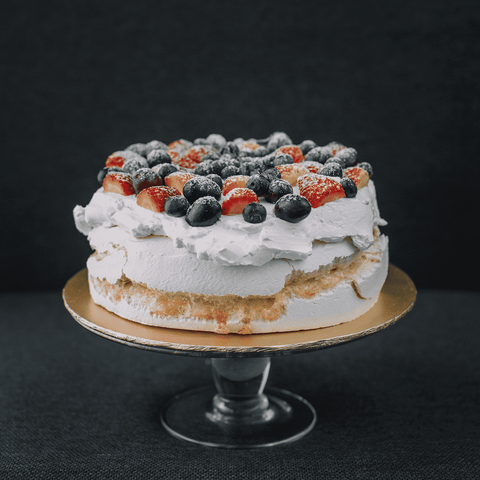 "Berry Pavlova Cake 12"" - Pavlova - Souka - - - - Eat Cake Today - Birthday Cake Delivery - KL/PJ/Malaysia"