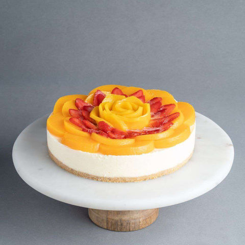 Berry Peachy Mango Cheesecake - Cheesecakes - Purple Monkey - - Eat Cake Today - Birthday Cake Delivery - KL/PJ/Malaysia