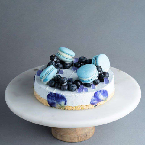 "Blue Fairy Cheesecake 7"" - Tea Flavored Cake - M Cake Boutique - - - - Eat Cake Today - Birthday Cake Delivery - KL/PJ/Malaysia"