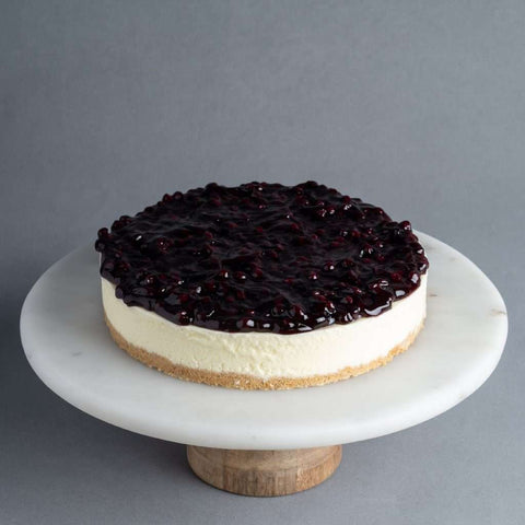 Blueberry N Cheese Cake - Cheesecakes - Purple Monkey - - Eat Cake Today - Birthday Cake Delivery - KL/PJ/Malaysia