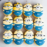 Box of 12 Minion Macarons - Macarons - Cakes by Maine - - Eat Cake Today - Birthday Cake Delivery - KL/PJ/Malaysia