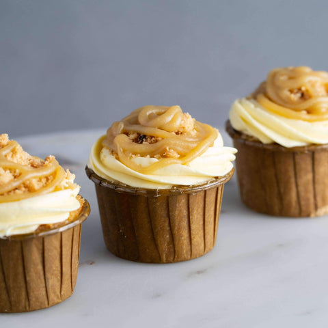 Butterscotch Cookie Cupcakes - Cupcakes - Ennoble - - Eat Cake Today - Birthday Cake Delivery - KL/PJ/Malaysia