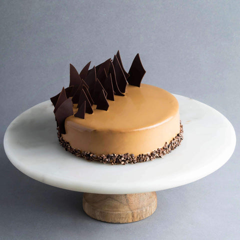 Caraibe Hazelnut Praline Cake - Chocolate Cake - Lachér Patisserie - - Eat Cake Today - Birthday Cake Delivery - KL/PJ/Malaysia