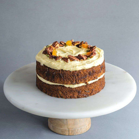 Carrot Pecan Cake - Carrot Cake - Huckleberry Food & Fare - - Eat Cake Today - Birthday Cake Delivery - KL/PJ/Malaysia