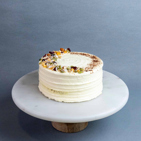 Carrot Walnut Cake - Sponge Cake - The Accidental Bakers - - Eat Cake Today - Birthday Cake Delivery - KL/PJ/Malaysia
