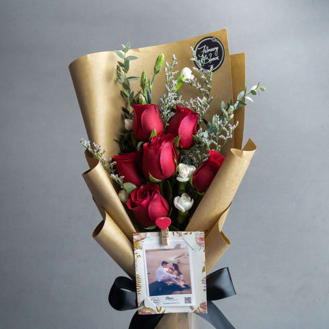 Cherish Flower Bouquet - Add On - February Bloom - - - - Eat Cake Today - Birthday Cake Delivery - KL/PJ/Malaysia