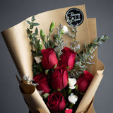 Cherish Flower Bouquet - Add On - February Bloom - - Eat Cake Today - Birthday Cake Delivery - KL/PJ/Malaysia