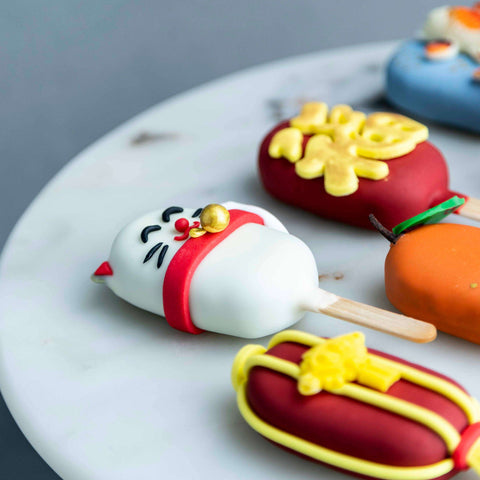 Chinese New Year Cakesicles - - B'Sweetbites - - Eat Cake Today - Birthday Cake Delivery - KL/PJ/Malaysia