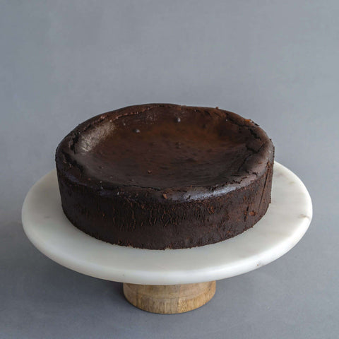 "Chocolate Burnt Cheesecake 9"" - Cheesecakes - Ennoble - - Eat Cake Today - Birthday Cake Delivery - KL/PJ/Malaysia"