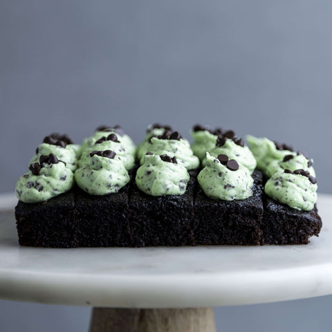 "Chocolate Mint Cake Bites 10"" - Cake Bites - Little Tee Cakes - - Eat Cake Today - Birthday Cake Delivery - KL/PJ/Malaysia"