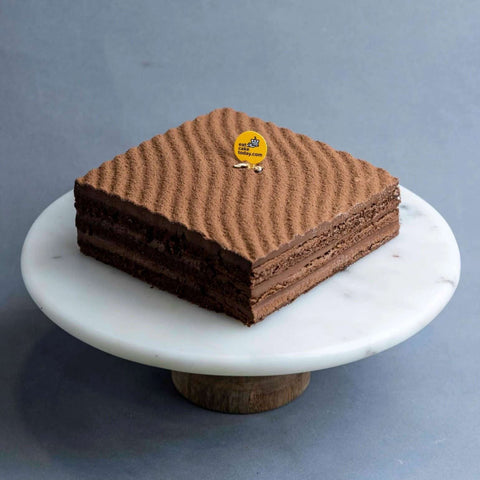 "Chocolate Mousse Cake 7"" - Chocolate Cake - Cat & The Fiddle - - Eat Cake Today - Birthday Cake Delivery - KL/PJ/Malaysia"