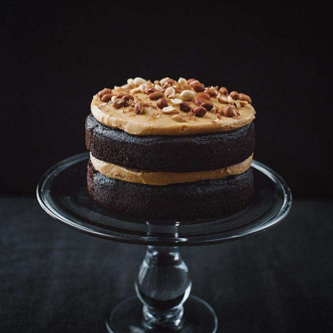 Chocolate Peanut Butter Cake - Chocolate Cake - Jaslyn Cakes - - Eat Cake Today - Birthday Cake Delivery - KL/PJ/Malaysia