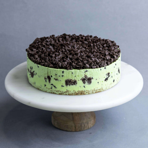 "Chocolate Peppermint Ice Cream Cake 8"" - Ice Cream Cake - Cake Tella - - Eat Cake Today - Birthday Cake Delivery - KL/PJ/Malaysia"