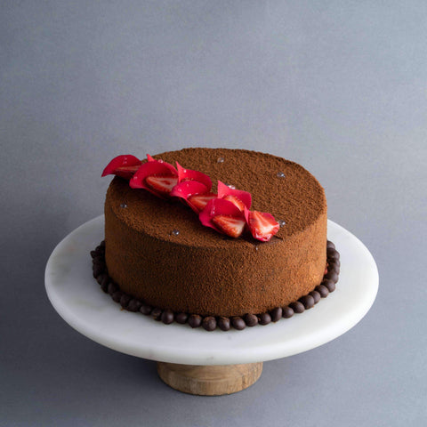 "Chocolate Red Velvety Cake 8"" - Red Velvet Cake - Baker's Art - - - - Eat Cake Today - Birthday Cake Delivery - KL/PJ/Malaysia"