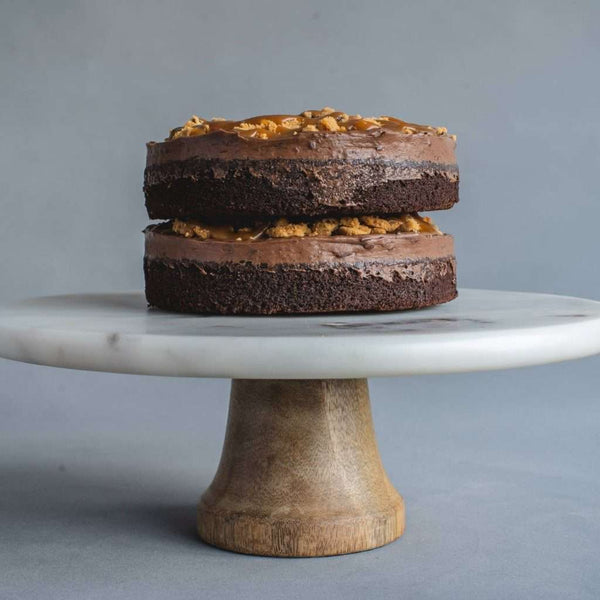 Chocolate Salted Caramel Cookie Cake Eat Cake Today