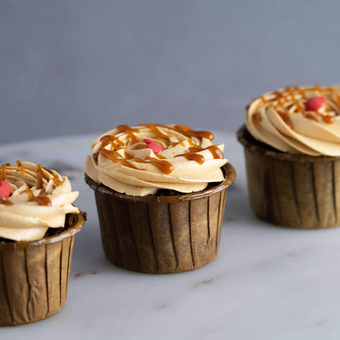 Chocolate Salted Caramel Cupcakes - Cupcakes - Ennoble - - Eat Cake Today - Birthday Cake Delivery - KL/PJ/Malaysia