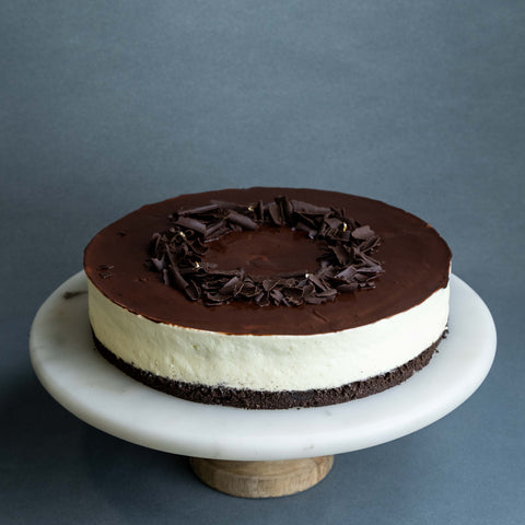 "Chocolate Tuxedo Cake 9"" - Cheesecakes - Ennoble by Elevete - - Eat Cake Today - Birthday Cake Delivery - KL/PJ/Malaysia"