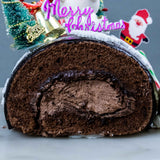 Christmas Bear Log Cake - Sponge Cakes - In The Clouds Cakes - - Eat Cake Today - Birthday Cake Delivery - KL/PJ/Malaysia