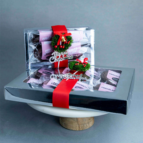 Christmas Brookies Set - - September Bakes - - Eat Cake Today - Birthday Cake Delivery - KL/PJ/Malaysia