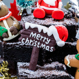 Christmas Brownies - Brownies - Mr & Mrs Brownie - - Eat Cake Today - Birthday Cake Delivery - KL/PJ/Malaysia