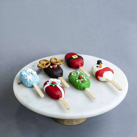 Christmas Cakesicles - Cake Pops - B'Sweetbites - - Eat Cake Today - Birthday Cake Delivery - KL/PJ/Malaysia
