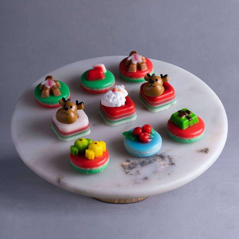 Christmas Jelly Bites - Jelly Cakes - Q Jelly Bakery - - Eat Cake Today - Birthday Cake Delivery - KL/PJ/Malaysia