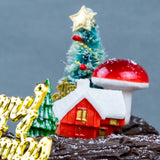Christmas Log Cake - Buttercakes - Kinmen Patisserie - - Eat Cake Today - Birthday Cake Delivery - KL/PJ/Malaysia