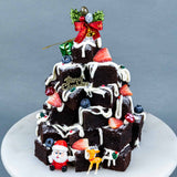 Christmas Stacked Brownies - Brownies - Ennoble by Elevete - - Eat Cake Today - Birthday Cake Delivery - KL/PJ/Malaysia