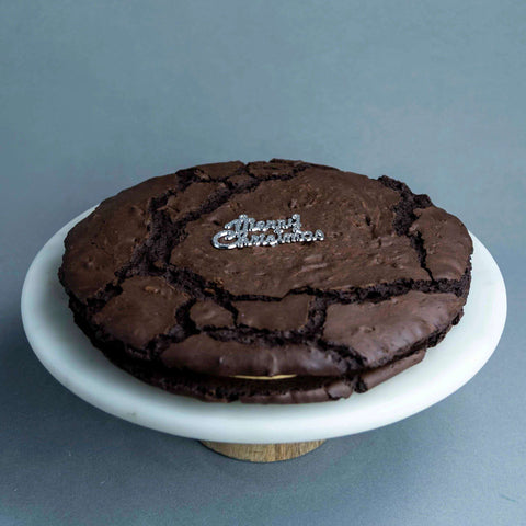 Christmas XXL Brookies - - September Bakes - - Eat Cake Today - Birthday Cake Delivery - KL/PJ/Malaysia