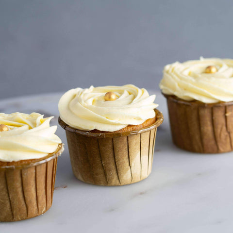 Classic Vanilla Swirl Cupcakes - Cupcakes - Ennoble - - Eat Cake Today - Birthday Cake Delivery - KL/PJ/Malaysia