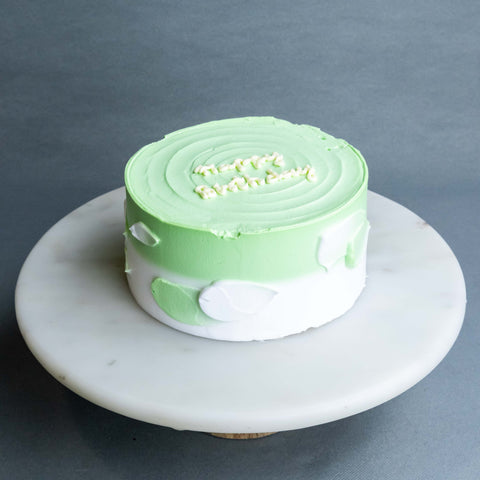 "Clover Korean Cake 6"" - Sponge Cakes - Jyu Pastry Art - - Eat Cake Today - Birthday Cake Delivery - KL/PJ/Malaysia"