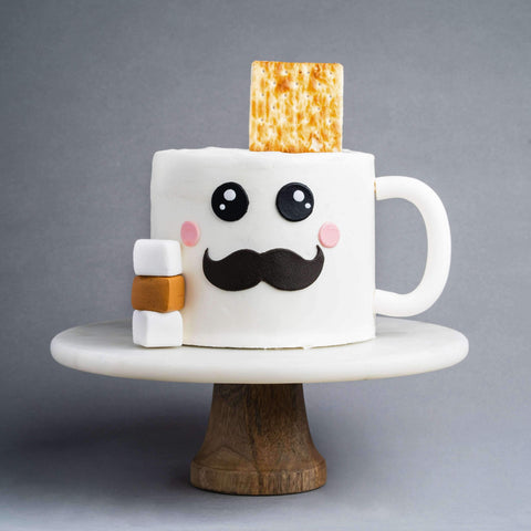 Coffee Mug Cake - Designer Cake - Junandus - - - - Eat Cake Today - Birthday Cake Delivery - KL/PJ/Malaysia