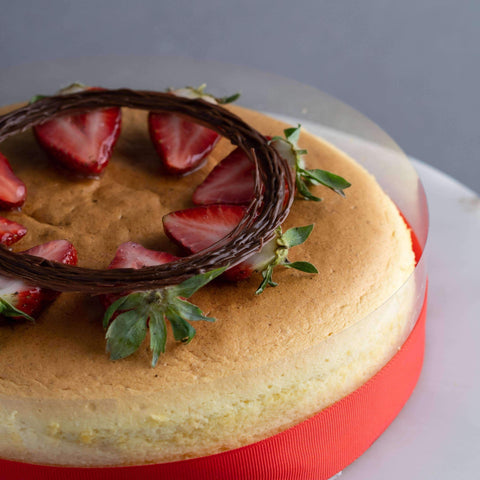 "Cotton Cheesecake 7"" - Cheesecakes - Baker's Art - - Eat Cake Today - Birthday Cake Delivery - KL/PJ/Malaysia"