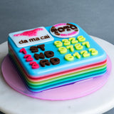 "Da Ma Cai Jelly Cake 6"" - Jelly Cakes - Q Jelly Bakery - - Eat Cake Today - Birthday Cake Delivery - KL/PJ/Malaysia"