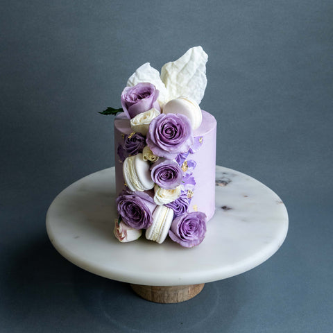 "Dear Viola Cake 4"" - Designer Cake - The Buttercake Factory - - Eat Cake Today - Birthday Cake Delivery - KL/PJ/Malaysia"