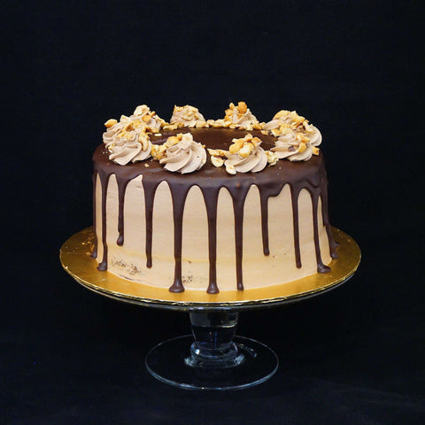 "Death by Nutella Cake 8"" - Chocolate Cake - Souka - - - - Eat Cake Today - Birthday Cake Delivery - KL/PJ/Malaysia"