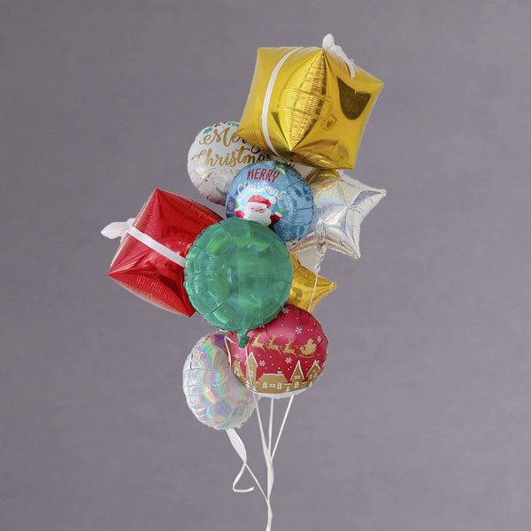 Deluxe Christmas Balloon Bouquet