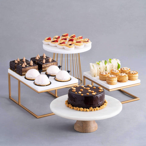 Blissful High Tea - Dessert Table Package - Baker's Art - - Eat Cake Today - Birthday Cake Delivery - KL/PJ/Malaysia