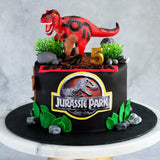 "Dinosaur Cake 6"" - Customized Cakes - Cakes by Maine - - Eat Cake Today - Birthday Cake Delivery - KL/PJ/Malaysia"