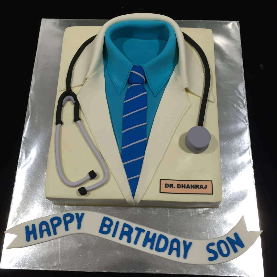 Admirable Doctor Cake 12 Inch Birthday Cards Printable Trancafe Filternl