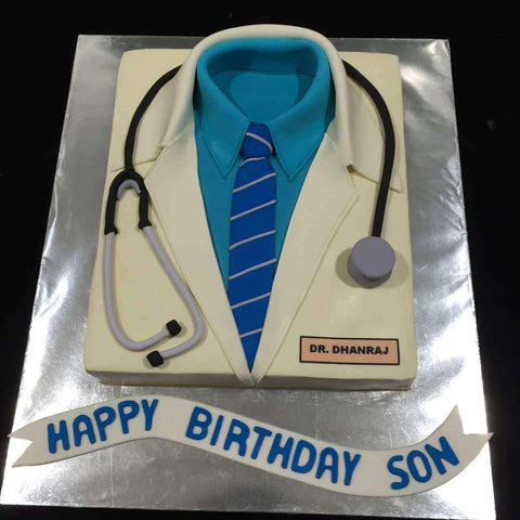 Doctor Cake 12 inch - Customized Cakes - B'Sweetbites - - Eat Cake Today - Birthday Cake Delivery - KL/PJ/Malaysia