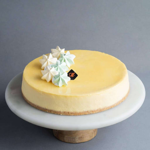 "Durian Cheesecake 9"" - Cheesecakes - Madeleine Patisserie - - Eat Cake Today - Birthday Cake Delivery - KL/PJ/Malaysia"