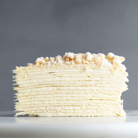 "Durian D24 Mille Crepe 9"" - Mille Crepe - Food Foundry - - Eat Cake Today - Birthday Cake Delivery - KL/PJ/Malaysia"